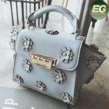 매력적인 작풍 여자의 핸드백 숙녀를 위한 Sy8078 최신 꽃 디자인 어깨에 매는 가방
