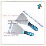 Мягкий шабер ножа замазки лезвия нержавеющей стали ручки TPR