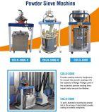 粉のリサイクルのための機械をふるう半自動粉