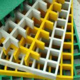 Fibra de vidrio moldeada de alta resistencia de FRP que ralla para el suelo de la planta