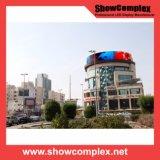 Schermo di visualizzazione esterno pieno del LED dell'affitto di colore P10