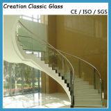 ISO/Ce/SGSの証明書が付いているドアガラスのための15mmの平らな緩和されたガラス