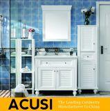アメリカの現代様式の純木の浴室の虚栄心(ACS1-W04)
