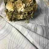 Jacquard clásico teñido y cortina teñida pieza