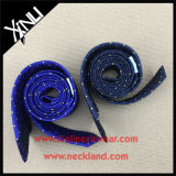 Corbata de seda tejida aduana hecha a mano de la manera del 100%