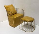 2017 عمليّة بيع حارّ ليّنة جلد وقت فراغ كرسي تثبيت مع مسند للقدمين ([بن-001])