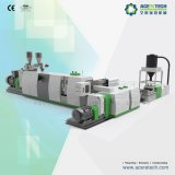 Reciclaje de dos fases de la alta calidad y máquina de la granulación para las escamas de la basura PP/PE/ABS/PS/HIPS/PC