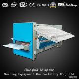 Handelswäscherei-Bügelmaschine des gebrauch-vier industrielle der Rollen-(3300mm) (Dampf)