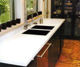 純粋な灰色の人工的な水晶平板およびカウンタートップ