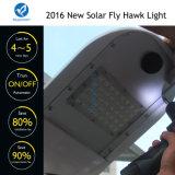 Luz de rua solar esperta do projeto novo de Bluesmart 2016 com o painel solar ajustável