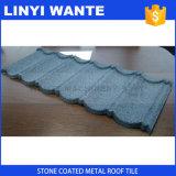 Mattonelle di tetto rivestite del metallo dello zinco della pietra variopinta di alluminio del piatto