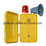 O telefone sem fio industrial, escava um túnel o telefone sem corda, telefone Emergency subterrâneo