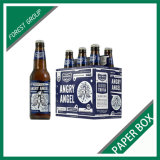 Kundenspezifischer Flaschen-Bier-Träger-Kasten des Druck-6 (FP8039100)