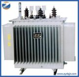 L'usine a personnalisé le transformateur immergé dans l'huile de support de Pôle de 3 phases d'Onan Dyn11