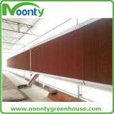 Sistema de ventilación de la pista de la refrigeración por evaporación de la fábrica del invernadero