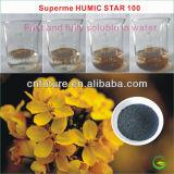 Shinny Löslich-Kalium Humate der Flocken-100%