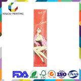 Caixa de cor cosmética Foldable retangular da alta qualidade barata da fonte para o creme Packagine do Bb
