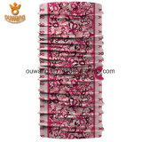 Hot Vendas Mltifunctional Design Your Own Logo Floral Print Hijab Head Scarf