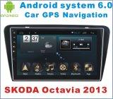 Androide Auto GPS-Navigation des Systems-6.0 für Skoda Octavia 2013 mit Auto DVD