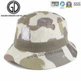 Bons chapéus da cubeta do algodão da qualidade do projeto com impressão dos peixes do oceano