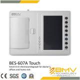 Electrocardiógrafo 6-CH esperto do toque de Bes-607A