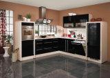 Gabinete de cozinha lustroso elevado UV do MDF da venda quente