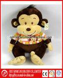 Цветастая игрушка плюша заполненной обезьяны для продукта малыша