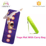 Honeyoga Mat avec Seven Chakras Impression, Travel Yoga Mat