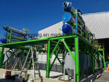 Trasformare il pneumatico residuo nella pianta di pirolisi dell'olio
