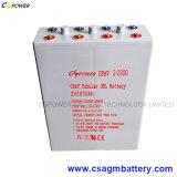 De Tubulaire Batterij met lange levensuur 2V2000ah, Opzv2-2000ah van het Gel
