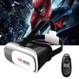 rectángulo de la realidad virtual de los vidrios de 3D Vr con la lente ajustable y correa para Smartphone