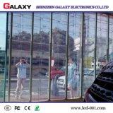 P3.75/P5/P7.5/P10/P16/P20 a todo color transparente/pared video del vidrio/ventana LED para hacer publicidad