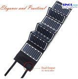 Панели солнечных батарей заряжателя 60W мобильного телефона заряжатель франтовского телефона мешка солнечной складывая солнечный