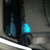 Couverture arrière protégée UV matérielle de ceinture de sécurité de type bleu de couleur ABS de tout neuf pour le membre d'un club F54 (2PCS/Set) de Mini Cooper