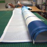 Drapeau estampé polychrome extérieur fait sur commande de maille pour le drapeau d'enveloppe de bord de la route