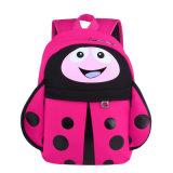 最新の漫画の子供の女の子のための新しいSoftbackのキャンバスの赤ん坊旅行袋