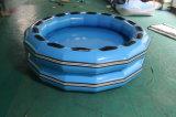 Zattera blu gonfiabile con un diametro di 2.5m per la sosta dell'acqua