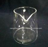 Copo de chá por atacado do vidro de Borosilicate com punho