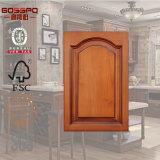 Конструкция шкафов двери кухни высокого качества Mahogany деревянная (GSP5-017)