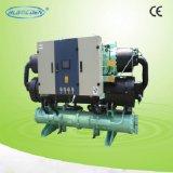 ネジ式二重圧縮機水スリラー