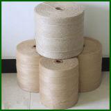 Hilado blanco natural de la alfombra del yute