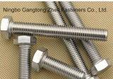 Болты с шестигранной головкой Ss304 DIN933 польностью продетые нитку тяжелые высокого количества