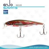Attrait peu profond de pêche de vitesse d'amorce choisie de bâton de pêcheur avec les crochets triples de Bkk (SB3109)