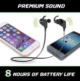 Bruit sans fil des écouteurs V4.1 de Bluetooth annulant des écouteurs de sport de Sweatproof