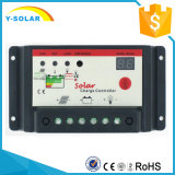 10A 20A 30Aのセリウム10IBlが付いている太陽系のための太陽料金のコントローラ12V/24V