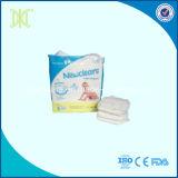 Pañales desechables no tejidos blandos transpirables del bebé