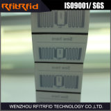 Étiquette programmable de vêtement d'IDENTIFICATION RF de fréquence ultra-haute