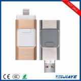 iPod/iPhone/iPad/PC/Android 전화를 위한 공장 가격 8GB 16GB 32GB 64GB OTG USB 섬광 드라이브