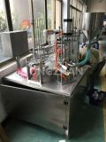 De fabriek verstrekt direct Roterende het Vullen van de Kop Verzegelende Machine