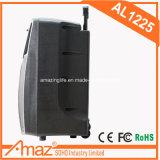 Haut-parleur de chariot à l'usine USB Bluetooth de Guangzhou avec la batterie à l'intérieur